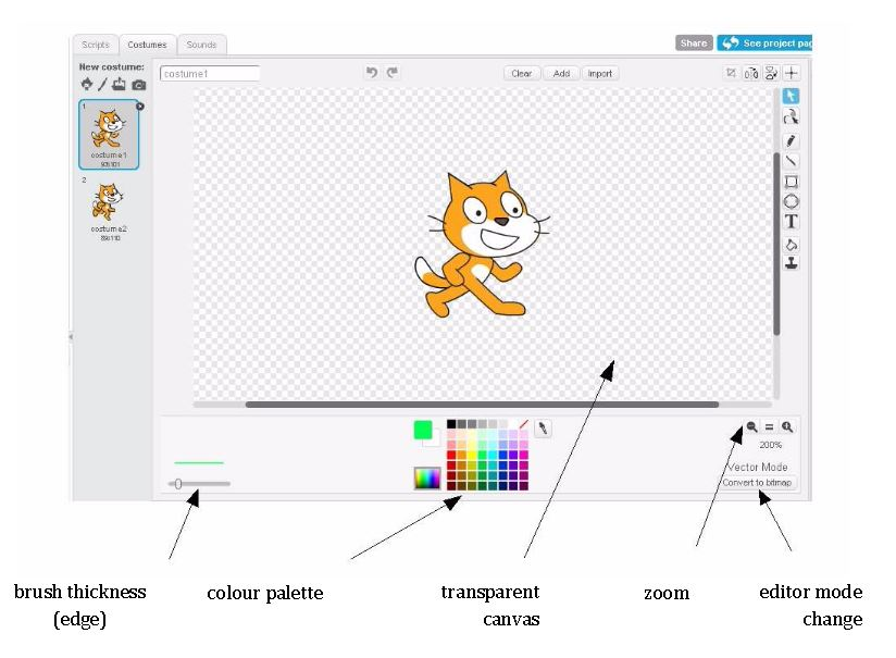 how to add sounds to scratch